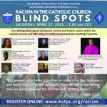 Knights of Peter Claver & Ladies Auxiliary hosting webinar on racism at 1pm CST