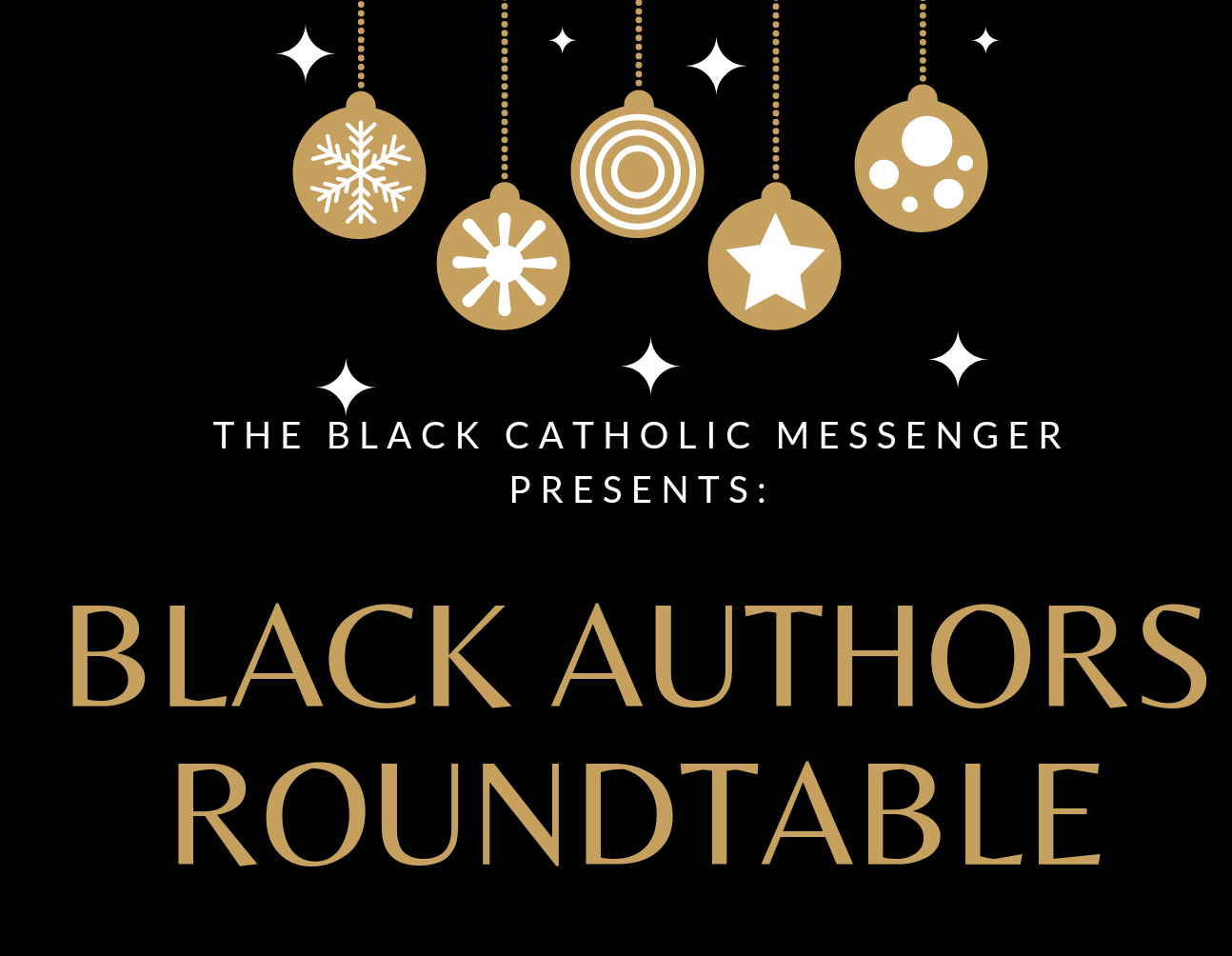 Inaugural BCM roundtable highlights authors at the intersection of Catholicism and Blackness