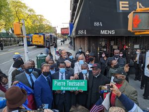 Pierre Toussaint Boulevard now stands in Brooklyn