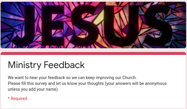 Anonymous, Church-run survey seeks Black Catholic respondents