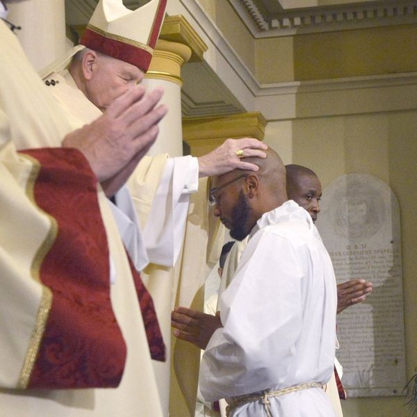 Deacon Ajani Gibson named parochial vicar of St Peter Claver New Orleans