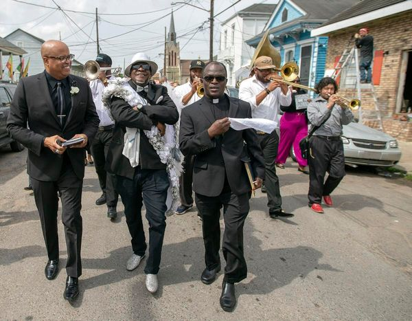 Accused African priest in New Orleans countersues alleged victim